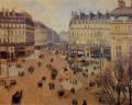 Place du Theater francais Nachmittagssonne im Winter 1898 Camille Pissarro Pariser